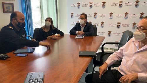 Avanzan los trabajos para la puesta en marcha del proyecto Smart Mobility en Andújar, que funcionará a finales de este año.
