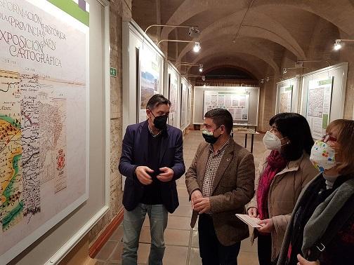 La Diputación amplía hasta el 19 de abril la muestra de cartografía histórica sobre la evolución territorial de Jaén.