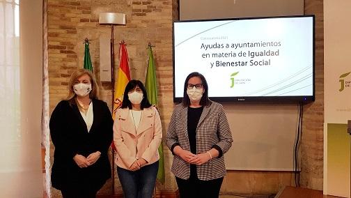 Diputación destina cerca de 2 millones de euros para programas municipales en materia de Igualdad y Bienestar Social.