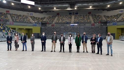 Finalizada la construcción del Olivo Arena, que ha supuesto una inversión de 22,5 millones de euros.