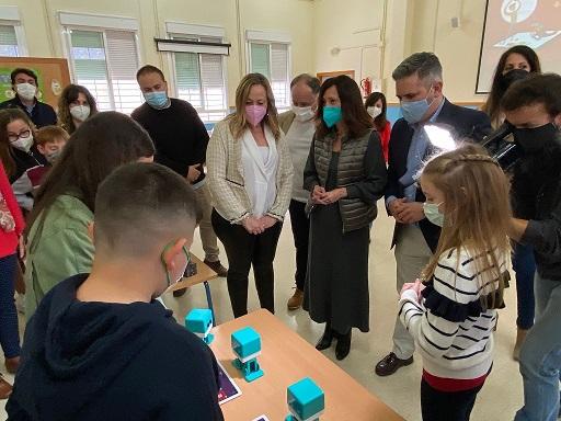 La Junta introduce la inteligencia artificial, el diseño 3D y la realidad aumentada en las aulas de Jaén.