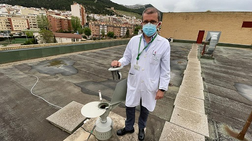 El Hospital de Jaén comienza la difusión diaria de los niveles de polen.