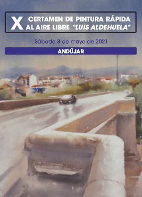 """Andújar acogerá pintores y pintoras de primer nivel de todo el territorio nacional durante el certamen de Pintura Rápida al Aire Libre """"Luis Aldehuela""""."""