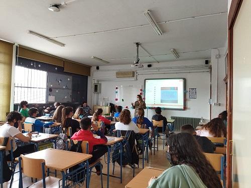 El área de Bienestar Social e Igualdad trabaja en la prevención de drogas con el alumnado de varios centros educativos de Andújar.