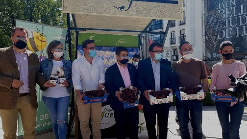 La Muestra Provincial de la Cereza de Diputación llegará en su novena edición a una decena de municipios jiennenses.