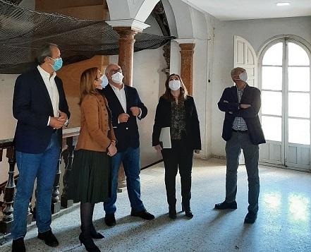Autorizada la intervención en las cúpulas barrocas del Hospital Municipal de Andújar.