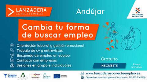 Andújar contará a partir de julio con una nueva Lanzadera Conecta Empleo.