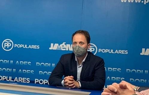 Erik Domínguez, elegido nuevo presidente del Partido Popular de Jaén.