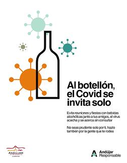 El Ayuntamiento de Andújar impulsa una campaña para que la población joven del municipio prosiga cumpliendo todas las medidas sanitarias.