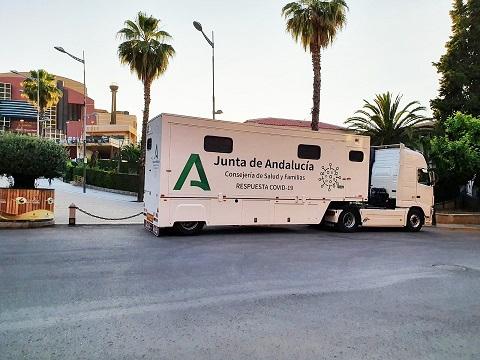 Salud y Familias realiza los cribados de esta semana en cuatro municipios de Jaén.