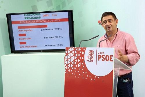 Juan Espadas gana las primarias del PSOE andaluz y abre un nuevo ciclo político.