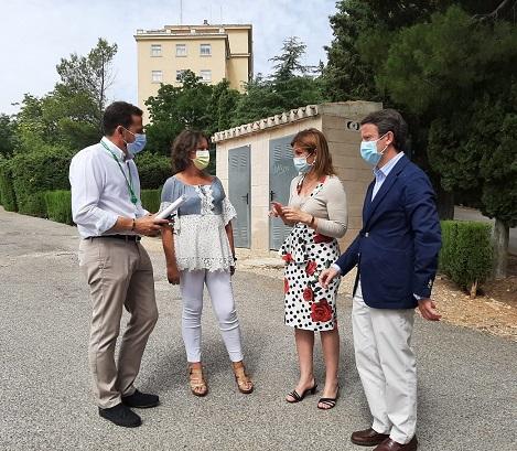 La Junta invierte 276.000 euros en mejorar la red de saneamiento del Hospital 'Doctor Sagaz' .
