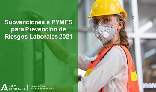 Empleo destina 4,83 millones de euros en ayudas para que las pymes mejoren su seguridad laboral.