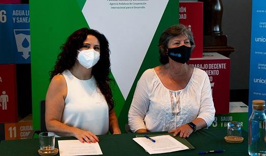 La cooperación andaluza, otra vacuna contra el Covid.