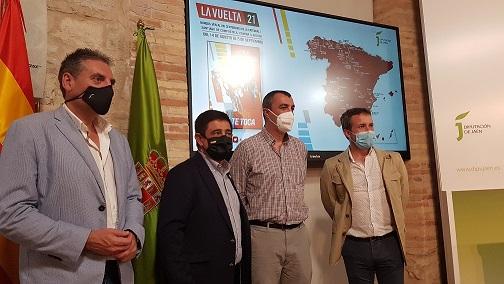 La Vuelta Ciclista a España regresa a la provincia de Jaén con la colaboración de la Diputación.
