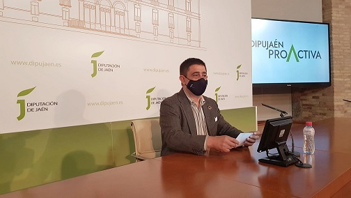 Diputación presenta el Plan DipuJaén Proactiva, con 15 grandes proyectos para optar a los fondos europeos.