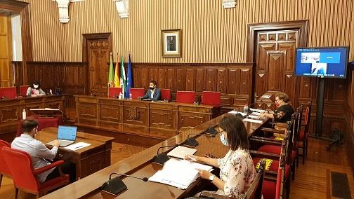 La Diputación aprueba 217.000 euros para redactar proyectos tecnológicos financiables con fondos del Plan de Recuperación.