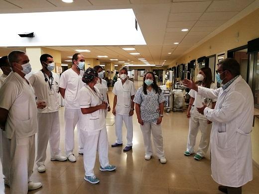La Agencia Sanitaria Alto Guadalquivir acoge a 136 nuevos profesionales este verano en sus 8 hospitales.