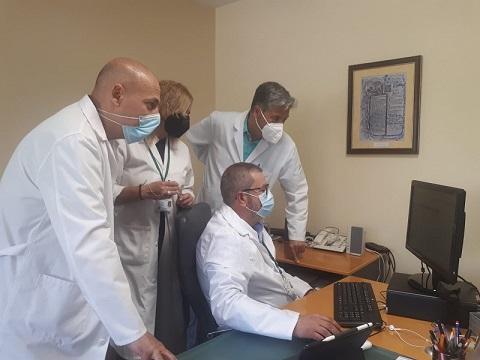 La Agencia Sanitaria Alto Guadalquivir desarrolla una herramienta informática con información asistencial en tiempo real.