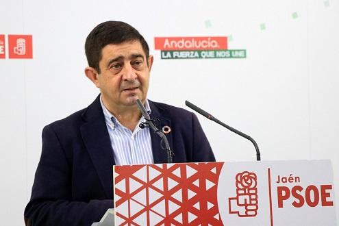 """Reyes: """"Juan Espadas abre una etapa de ilusión para volver a tener un Gobierno progresista en Andalucía""""."""