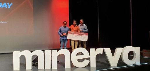 La startup jiennense Oslice Technology, premiada en el Programa Minerva por los grandes hitos alcanzados durante su proceso de aceleración.