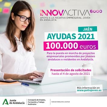 El IAJ destina 100.000 euros para la puesta en marcha de proyectos empresariales de Jaén.