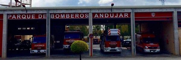 El Ayuntamiento de Andújar realiza una inversión para mejorar las infraestructuras del Parque de Bomberos.