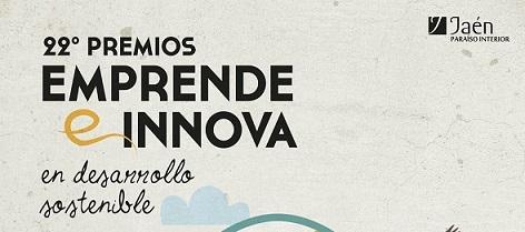 La Diputación de Jaén amplía hasta el 30 de septiembre el plazo para optar a los Premios Emprende e Innova.