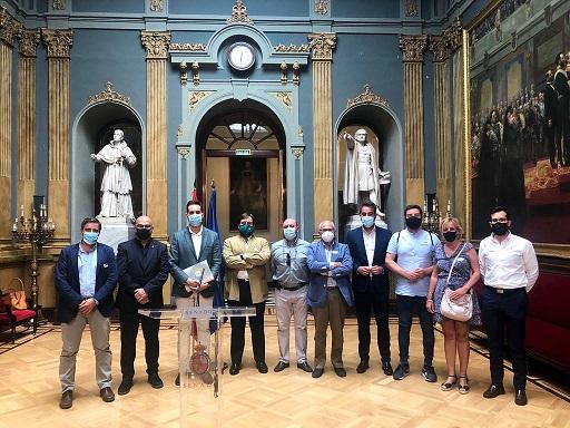 La comisión permanente del CES provincial se reúne en el Senado para analizar y debatir los proyectos urgentes para Jaén.