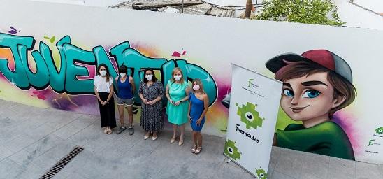 El proyecto Street Art Plus de Diputación lleva el arte joven a seis municipios de la provincia.