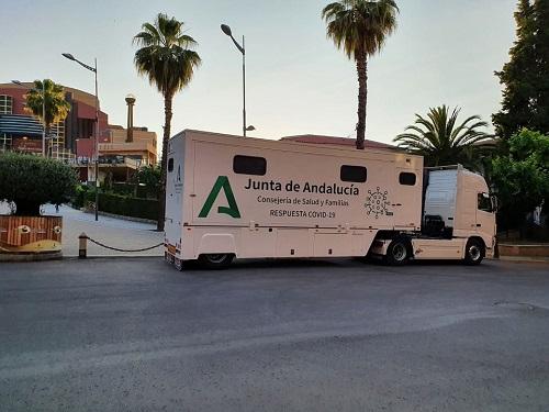 Salud y Familias realiza los cribados de esta semana en 5 municipios de Jaén.