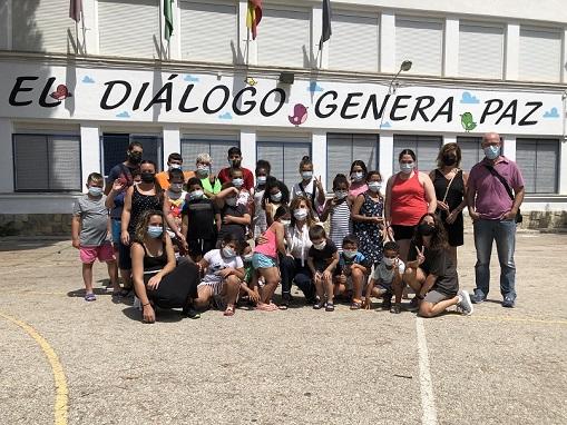 Igualdad destaca el buen funcionamiento y la ausencia de incidencias en las escuelas de verano para 300 menores en la provincia de Jaén.