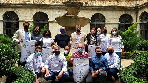 Ocho finalistas compiten el viernes por elaborar la mejor tapa de Jaén del concurso patrocinado por Diputación.