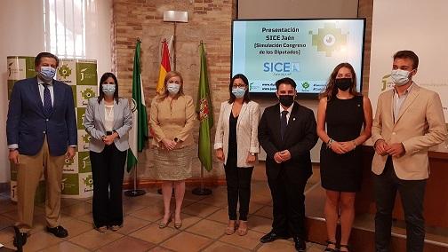 Un centenar de jóvenes participarán en Jaén en un evento de simulación política en el que colabora la Diputación.