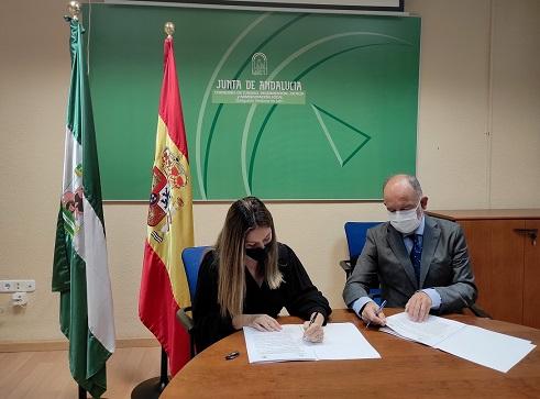 La Junta y la Universidad de Jaén renuevan el convenio para prácticas en recursos de Justicia Juvenil.