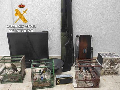 La Guardia Civil ha detenido a dos personas e investiga a otras ocho, como presuntas autoras de los Delitos de Robo y Hurto.