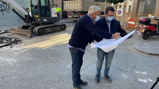 El Ayuntamiento de Andújar acomete la renovación integral de las calles Miguel Estepa y Mesones.