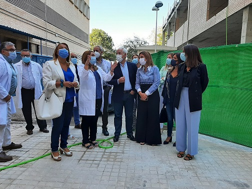 La Consejería de Salud invierte 4,6 millones para distintas actuaciones en el Hospital San Agustín de Linares.