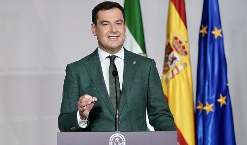Juanma Moreno solicita comparecer en un nuevo Debate del Estado de la Comunidad para impulsar la recuperación.