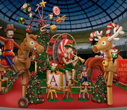 Atrações de Natal do Iguatemi Campinas