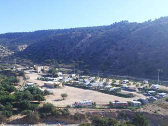 Camping Aourir - View from above