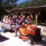 activités enfants, camping, chateauneuf du pape, vaucluse