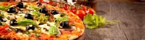 Pizza chateauneuf du pape Camping l'Art de Vivre