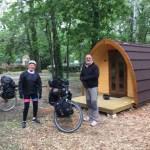 Via Rhôna, camping