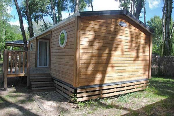 Mobilhome 2 chambres Casa Rhum, extérieur