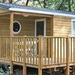 Mobilhome 2 chambres Grenache, extérieur terrasse
