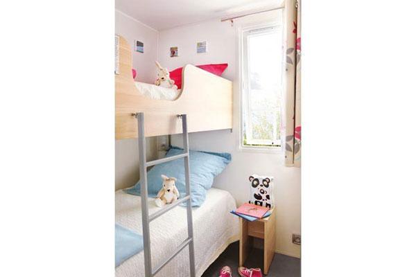 Mobilhome 3 chambres Picpoul - Chambre