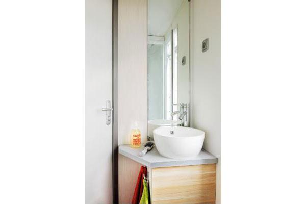 Mobilhome 2 chambres Roussane, salle de douche