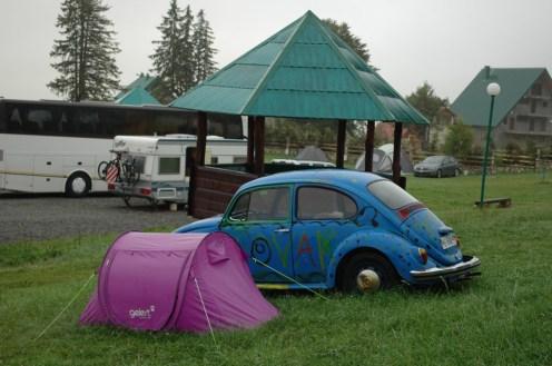 Kleine Zelte bevorzugt