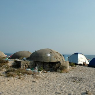 Bunker und Iglozelt 2011